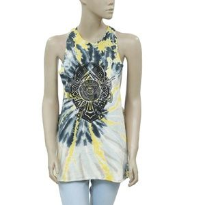Ecote Urban Outfitters Printed Sleeveless Top M